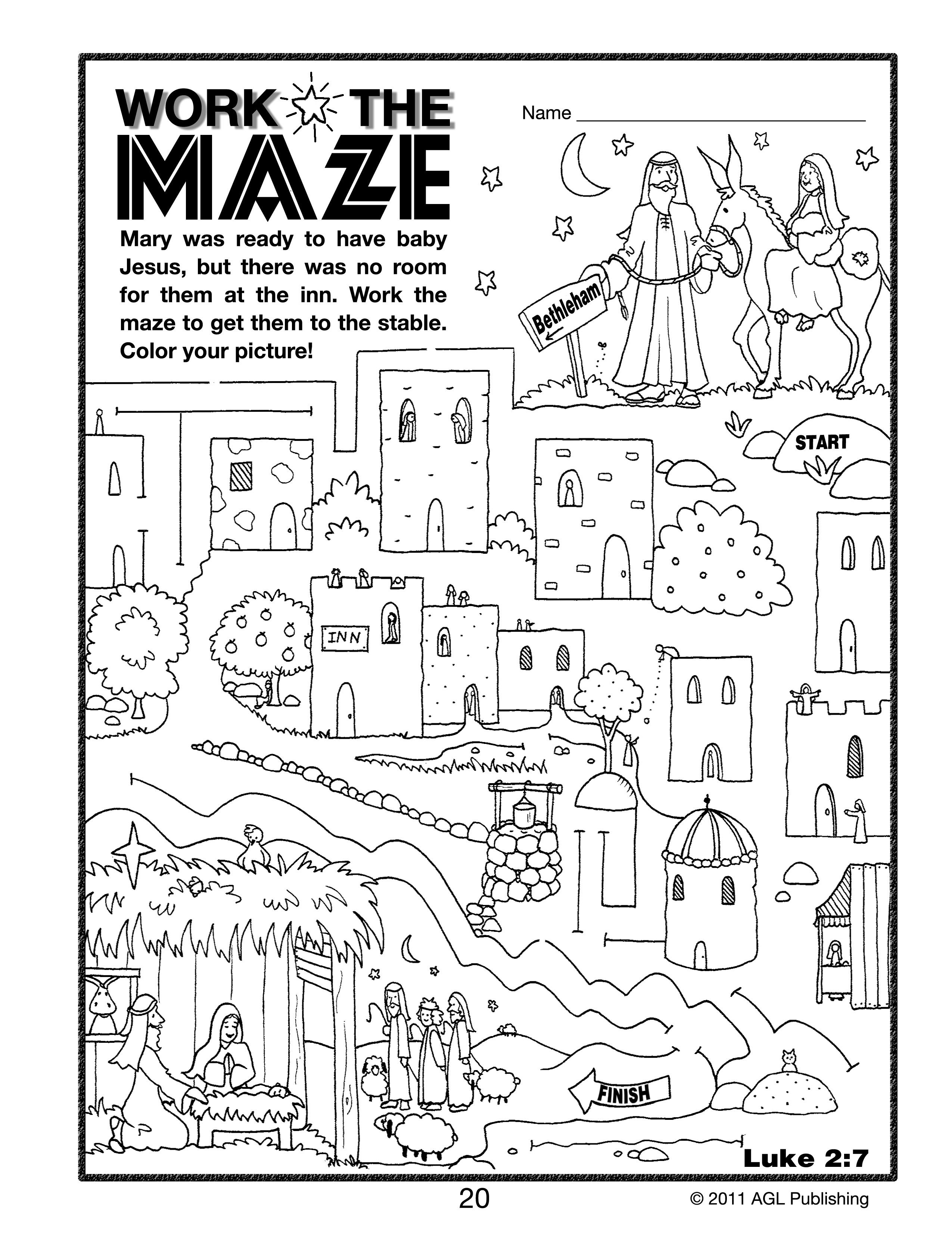 Explore Colouring Pages Maze And More