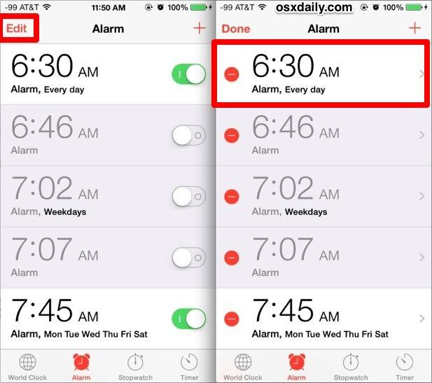 نعتمد بشكل كبير على هواتفنا للإستيقاظ في الصباح و لكن عادة ما يكون الوضع المبدئي لنغمة المنبه نفس النغمة الرئيسية للآيفون مما قد يسبب حيرة Day At T Weekday