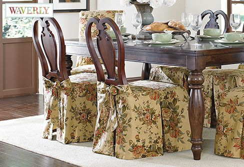 Superb Bridgewater Floral By Waverly Dining Chair Skirt Alphanode Cool Chair Designs And Ideas Alphanodeonline