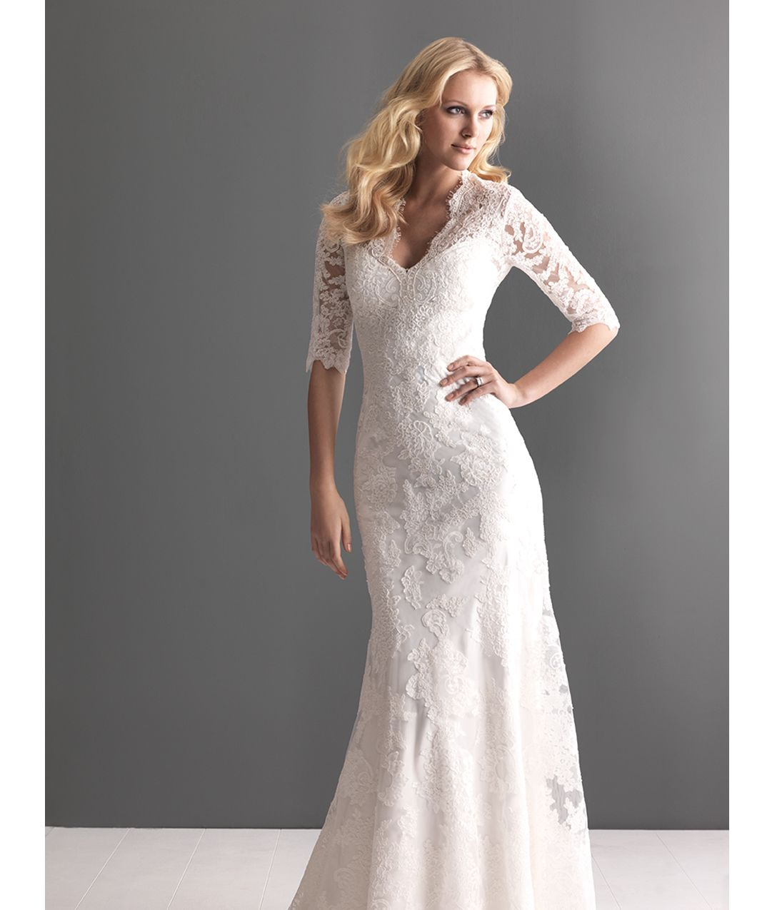 Allure Modest Wedding Gowns: Wedding Dress Buttons, Wedding