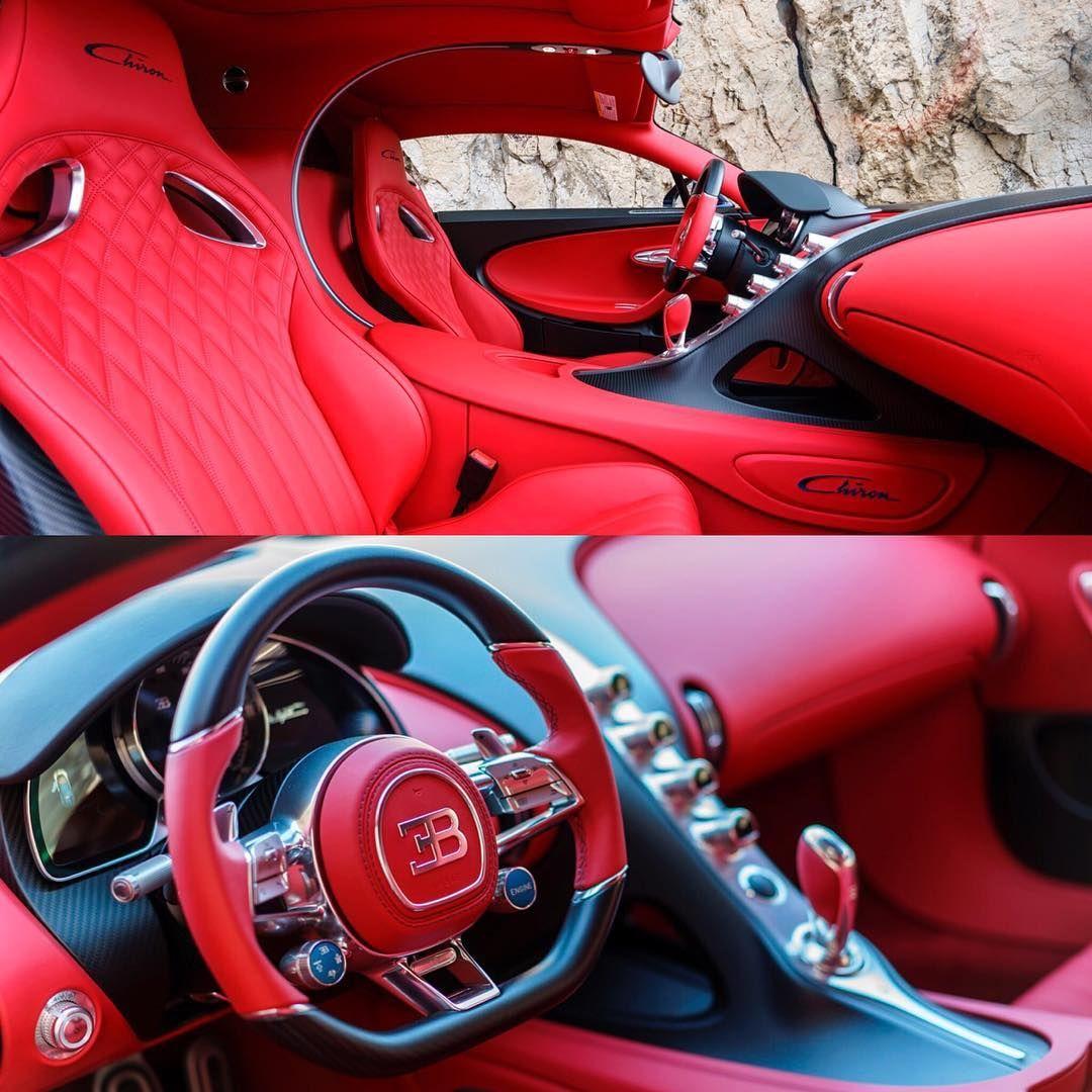 Red Bugatti Chiron Interior Lmx Bugatti Chiron Bugatti Chiron