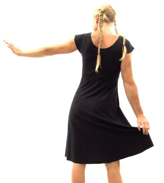 Simple robe chanvre et coton bio par yanadee sur Etsy