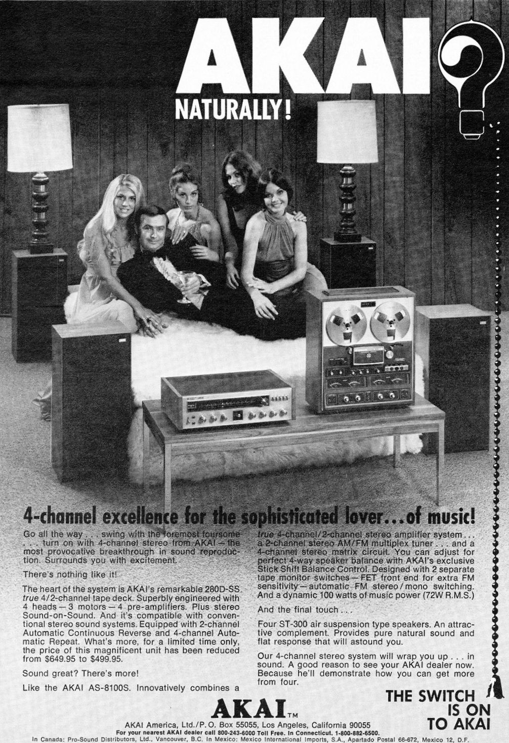Hi Fi Heaven Stereo Amp Record Player Advertising 1960s