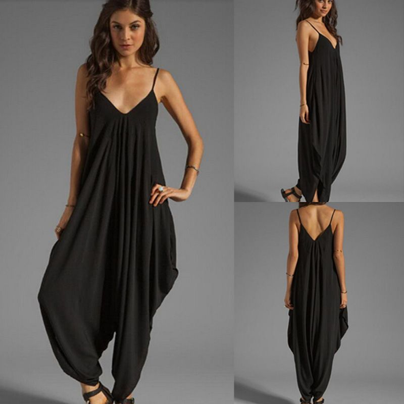 Buy Women's Straps V Neck African Print Loose Fit Harem Pants Jumpsuit Romper and other Jumpsuits, Rompers & Overalls at erawtoir.ga Our wide selection is elegible for free shipping and free returns/5(9).