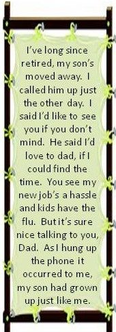 Harry Chapin Cats In The Cradle Music Quotes Lyrics Great Song Lyrics Lyrics To Live By