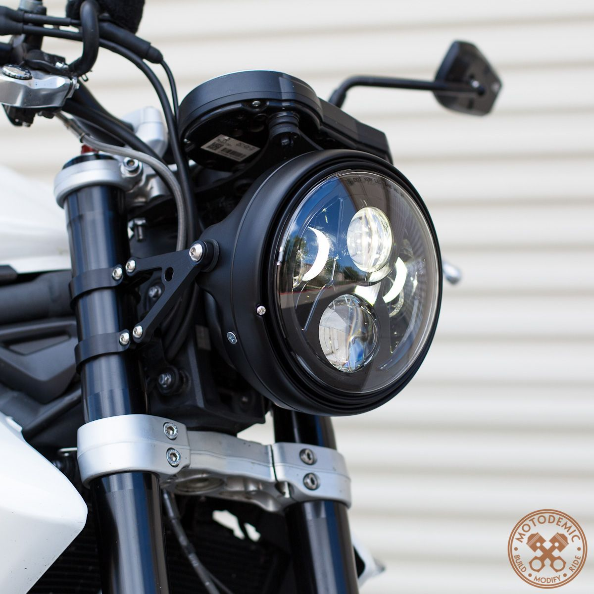 Yamaha Warrior  Aftermarket Headlights