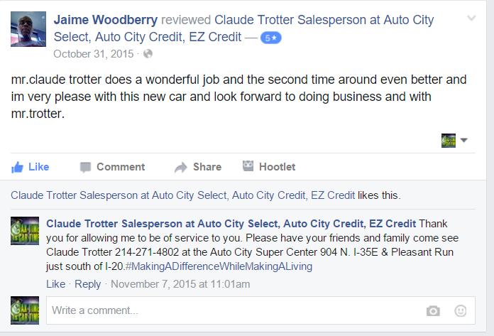 Auto City Lancaster >> Formally Auto City Credit Buckner Blvd Loop 12 Now