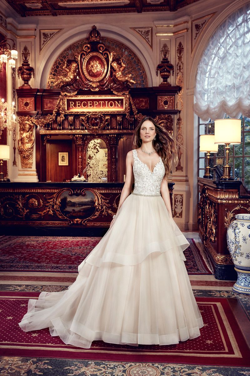 Wedding Dress EK1130 | Bridal gowns, Wedding dress and Gowns