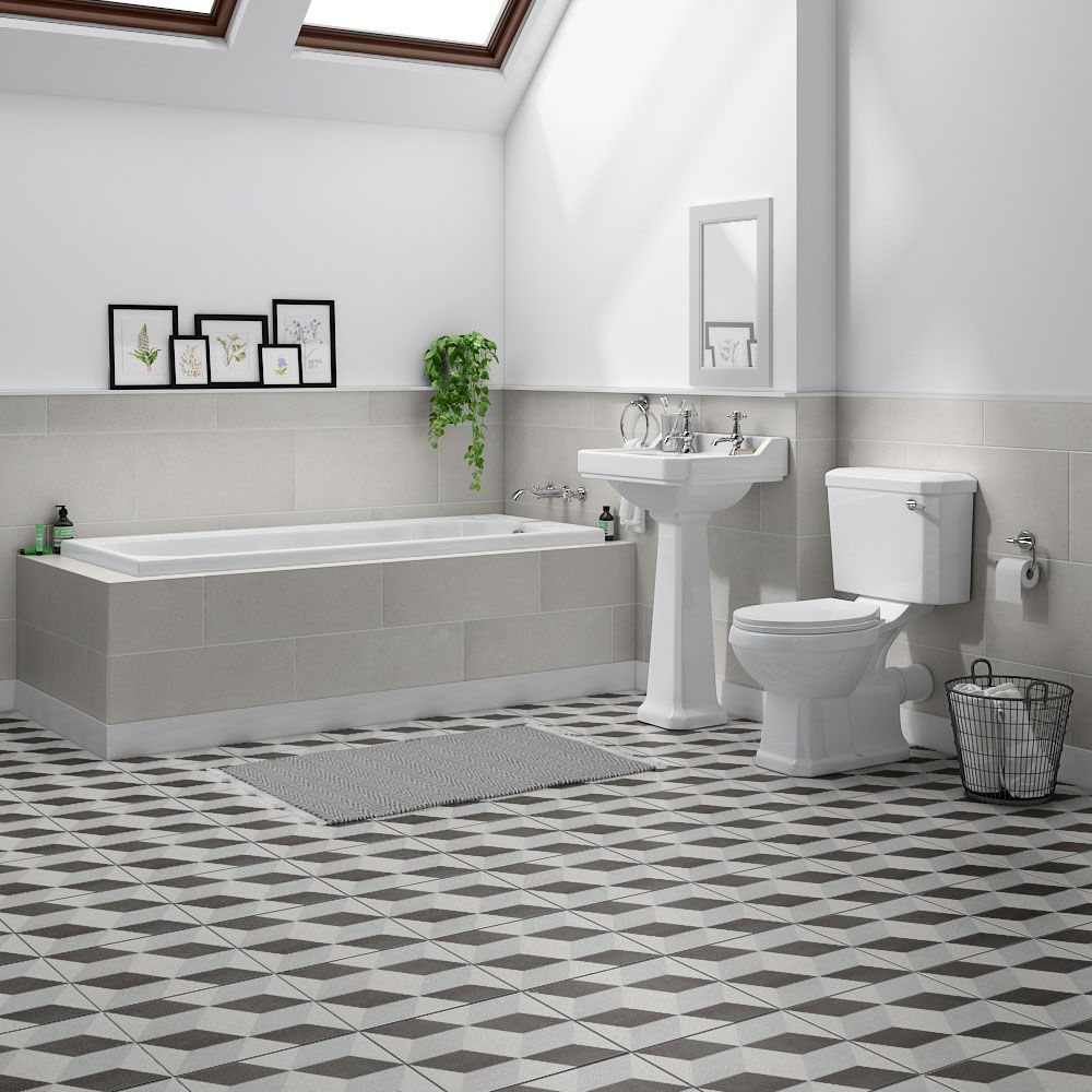 Carlton Traditional Bathroom Suite Now At Victorian Plumbing Co Uk Traditional Bathroom Traditional Bathroom Suites Simple Bathroom Designs