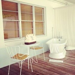 Spas in South Beach Miami | In the dreamy outdoor tub