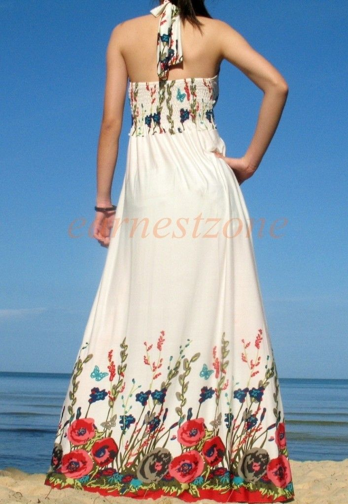 New Evening Party Beach Sundress Prom Formal Wedding ...