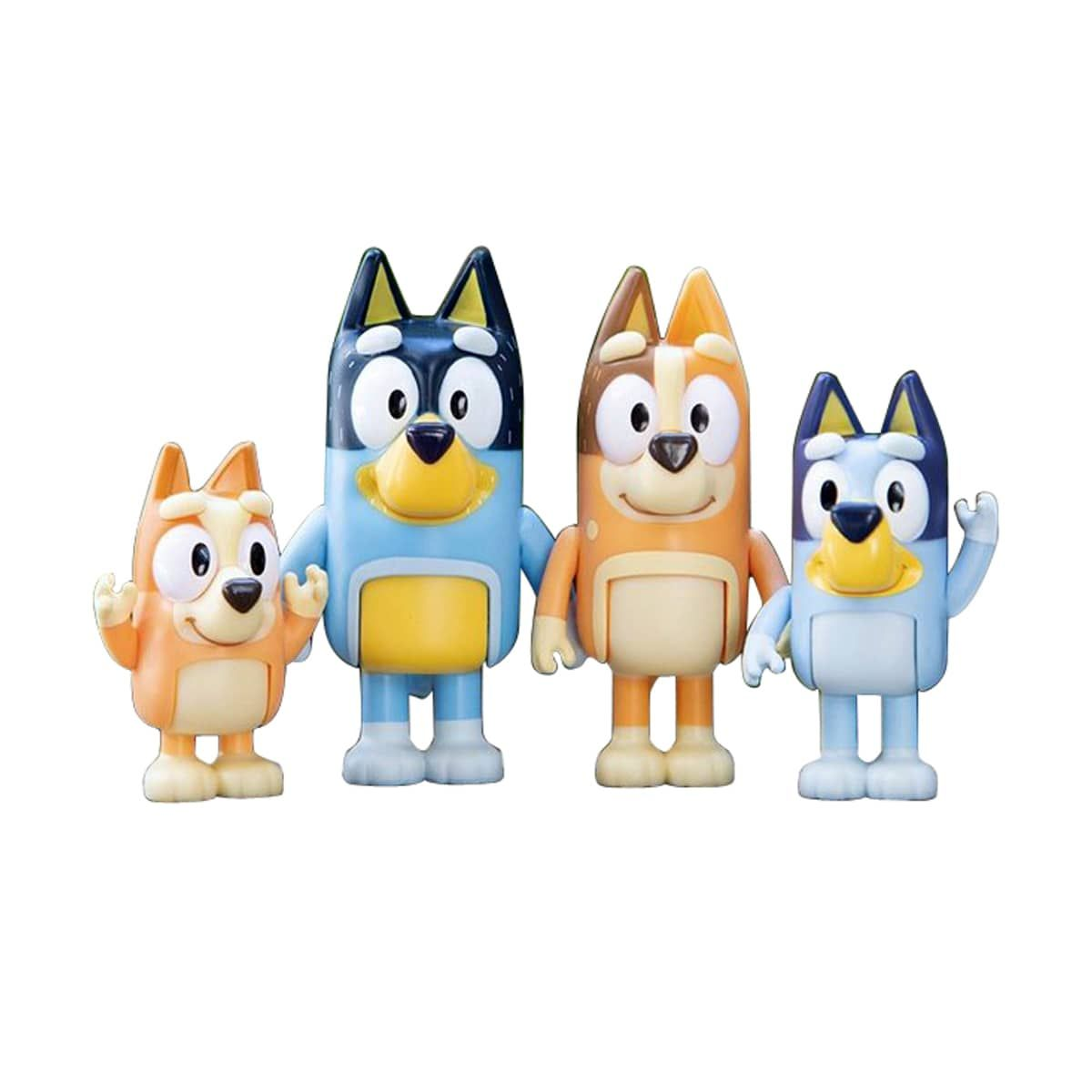 Bluey 4 Pack Figurine Family Pack At Toys R Us Toys R Us Blue Heeler Dogs Gifts For Kids