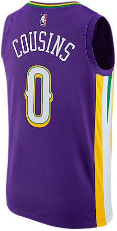 Nike Men s New Orleans Pelicans NBA DeMarcus Cousins City Edition Connected  Jersey 986ab22f4