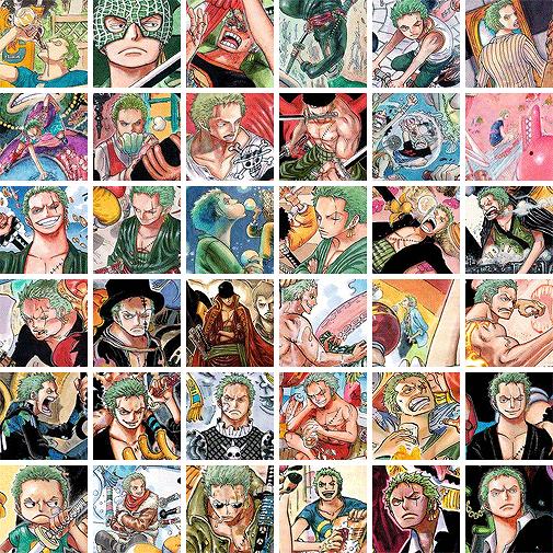 protec11/11  - Happy birthday Roronoa Zoro!-  One Piece
