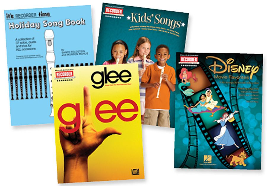 """SING & PLAY RECORDER """"POPS"""" Books Set includes the"""
