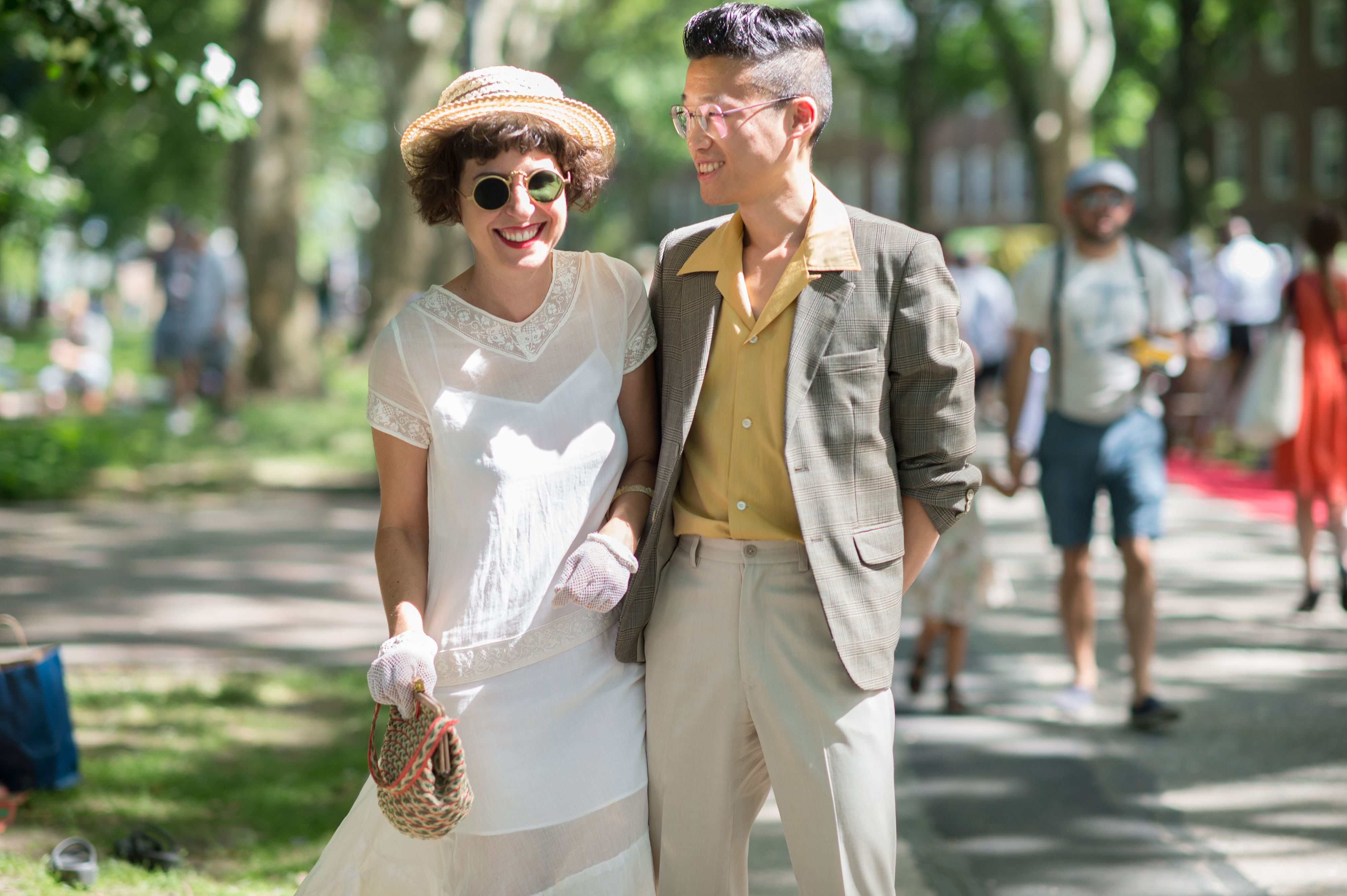 S Street Style From The Jazz Age Lawn Party