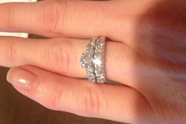 have you seen the ring helzberg diamonds ladies wedding set used engagement rings - Helzberg Wedding Rings