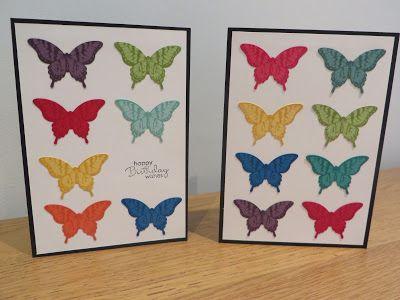CraftyCarolineCreates: Papillon Potpourri Scraps Card - Stampin' Up Papillon Potpourri