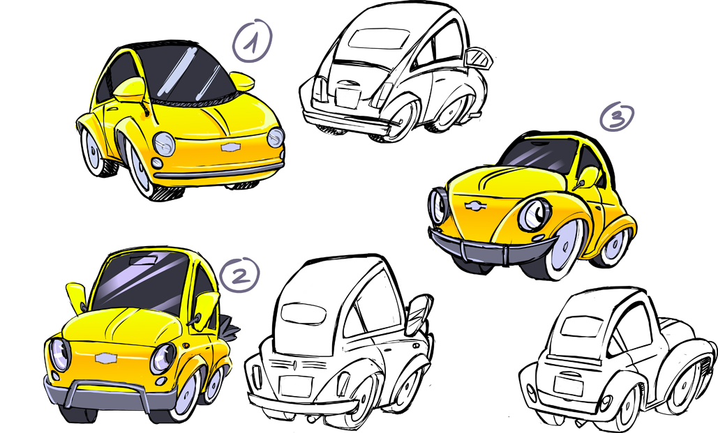Technicolor ends here toon car recherches graphiques dessin et graphiques - Coloriage cars toon ...