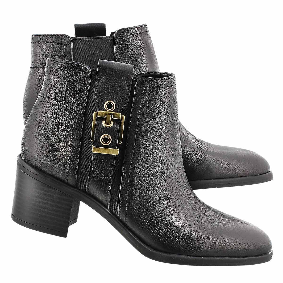Franco Sarto Women's EMINENT black chelsea boots