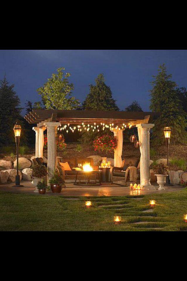 A  beautiful yard setting