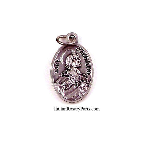 Saint mary magdalene religious medal italian rosary parts mary saint mary magdalene religious medal italian rosary parts mozeypictures Gallery