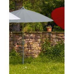 Photo of Sun umbrella Simi gray, 247 cm