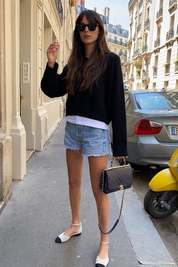 Photo of 9 Ways French Girls Are Wearing Classic Denim Shorts This Summer