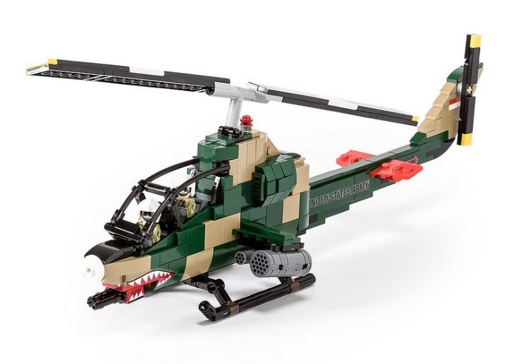 Lego Bell AH-1G Cobra Helicopter   Lego   Pinterest   Lego, Lego ...