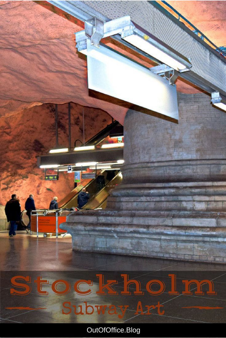 Stockholm Subway Art: Stockholm's Subway (T-Bana) is often referred to as the world's longest art exhibit; it is well worth exploring:
