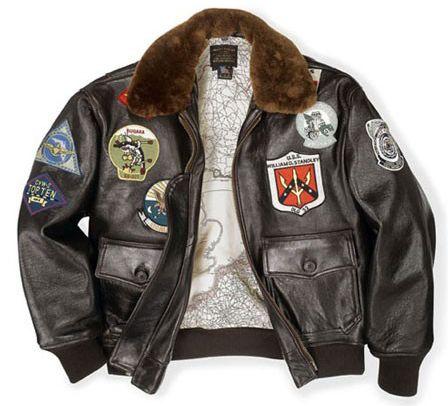 0cda940c4 Pilot Gifts   DIY   Vintage leather jacket, Burgundy leather jacket