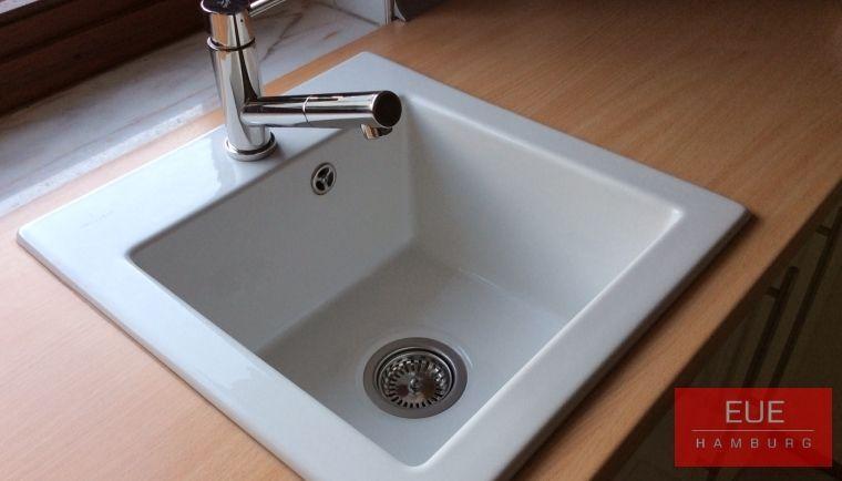 Keramikspüle Subway 45 XS - villeroy und boch waschbecken küche