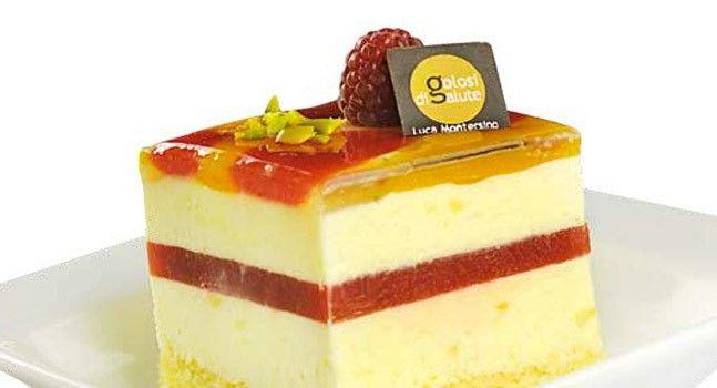 La torta arlecchino di luca montersino torte moderne nel - Glassa a specchio montersino ...