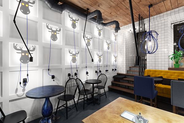 Inspiring Cafe U0026 Coffee Shop Interior Design Ideas   XDesigns