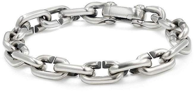 b808f56c87e85 David Yurman Chain Links Bold Bracelet in 2019 | Products | Jewelry ...