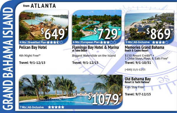 Here is a Great Deal leaving from Atlanta with Vacation Express!