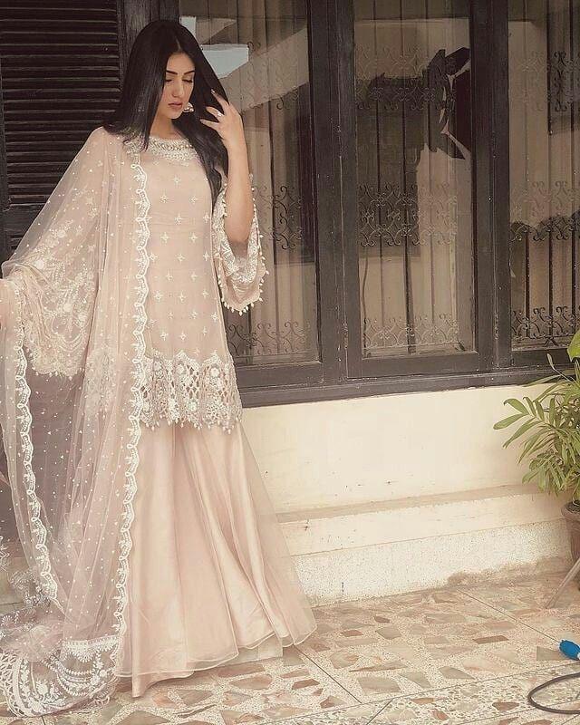 Lehnga wedding dress