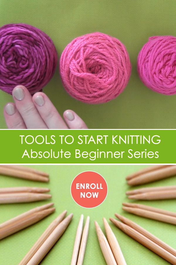Photo of Absolute Beginner Knitting Series – Get Your Tools