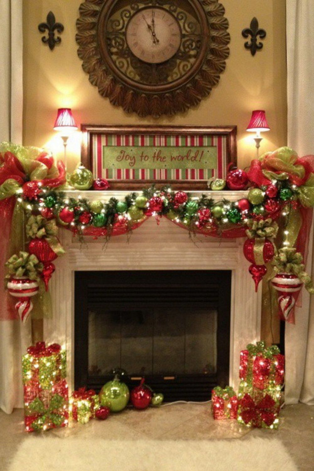 44 Exceptional Christmas Mantels 🎄 | Merry Christmas ...