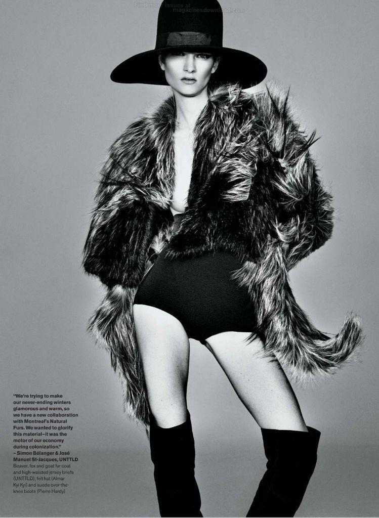 Elle Canada August 2014 | Carly Moore | Tiziano Magni