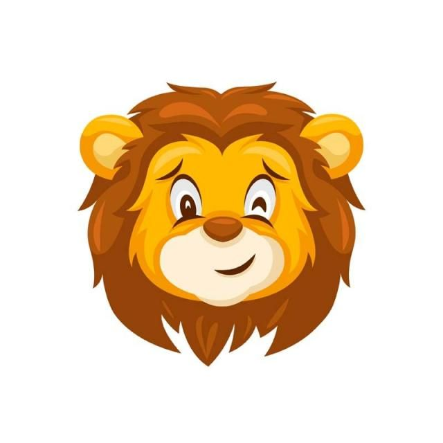 Cute Wink Lion Face Emoticon Expression Illustration Lion King Lion King Clipart Lion Leo Png And Vector With Transparent Background For Free Download Lion Face Drawing Lion Illustration Lion Head Logo