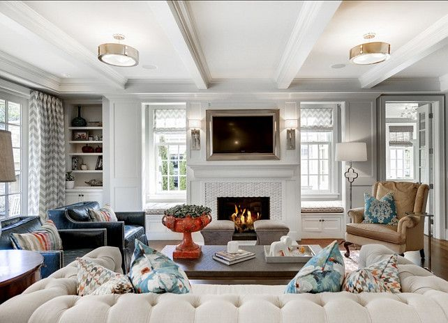Fireplace Windows On Either Side Design Ideas, Pictures, Remodel And Decor Part 31