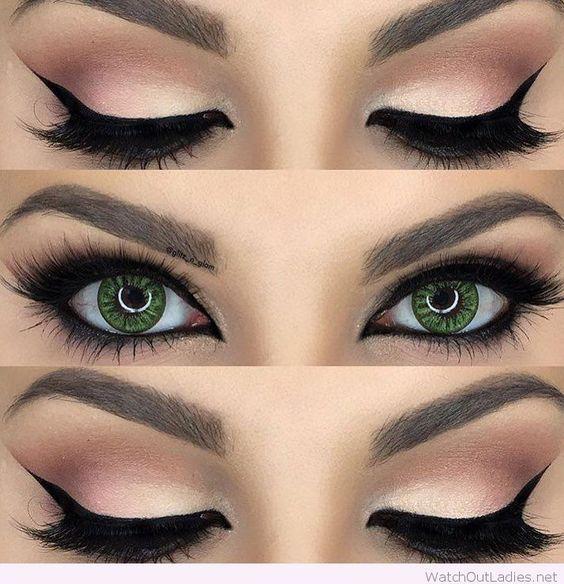 10 Make Up Looks Für Grüne Augen Schminken Make Up Augen Make