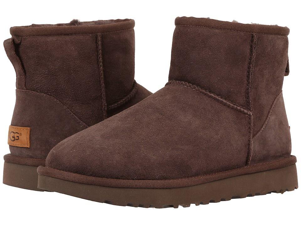 Classic Mini boot with fur