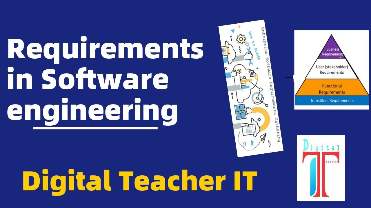 Software Engineering Requirements Software Engineering Complete Course In 2020 Engineering Software Business Requirements