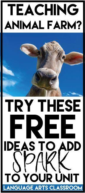 animal farm unit free ideas middleschoolmaestros com pinterest