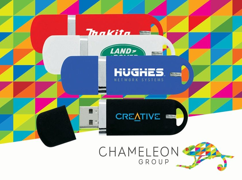 #USBs & #Technology - Chameleon Print Group - #Australia  Get your own branded bit of technology! Just upload your image and order a box load of these today.