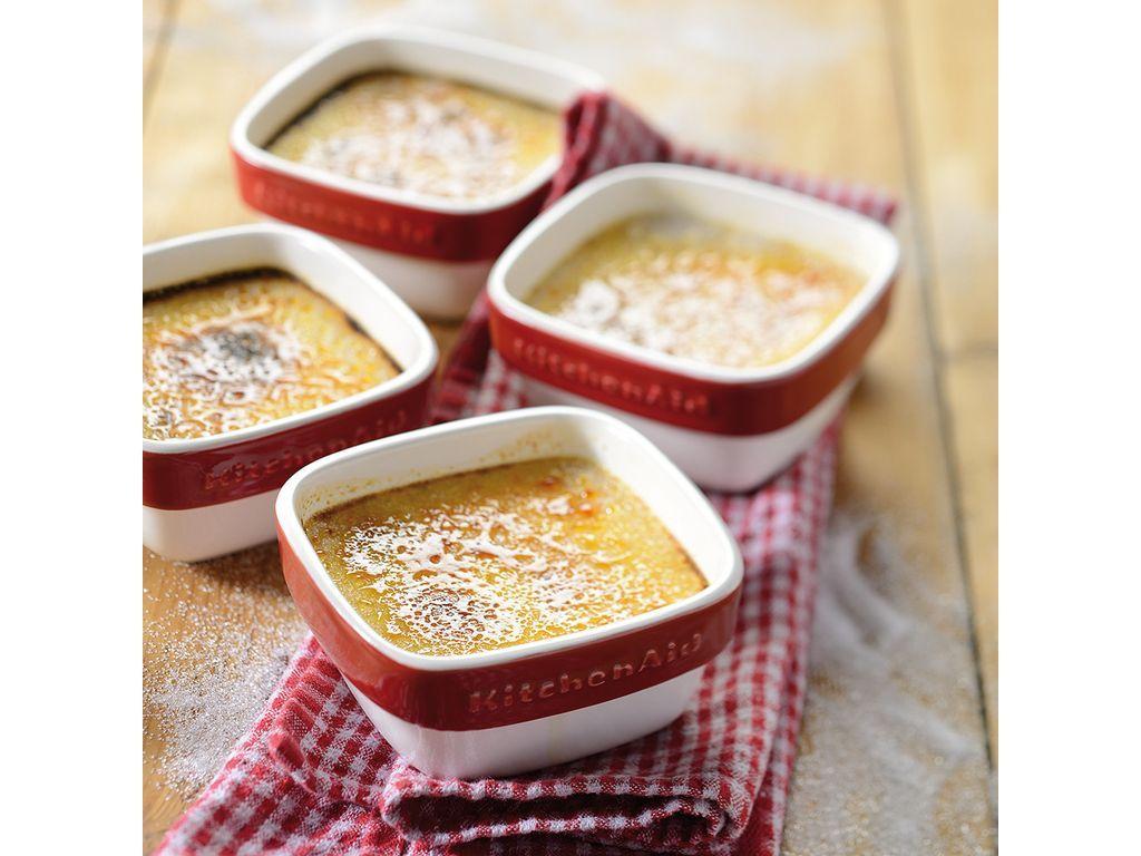 4 Piece Ramekin Set Almond Cream Almond Cream Cooking Kitchen Almond