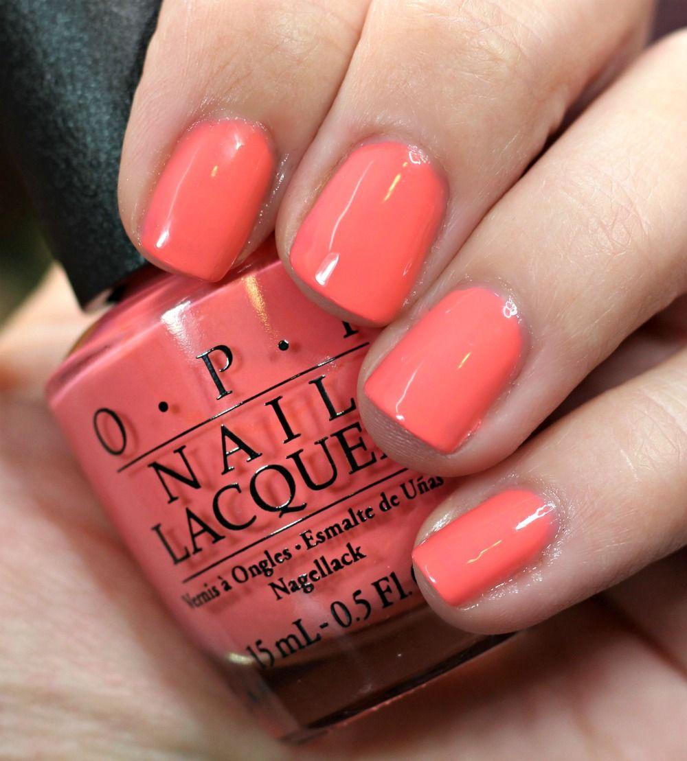 Summer 2015 Nail Colours: OPI California Dreaming Nail Polish Collection Swatches