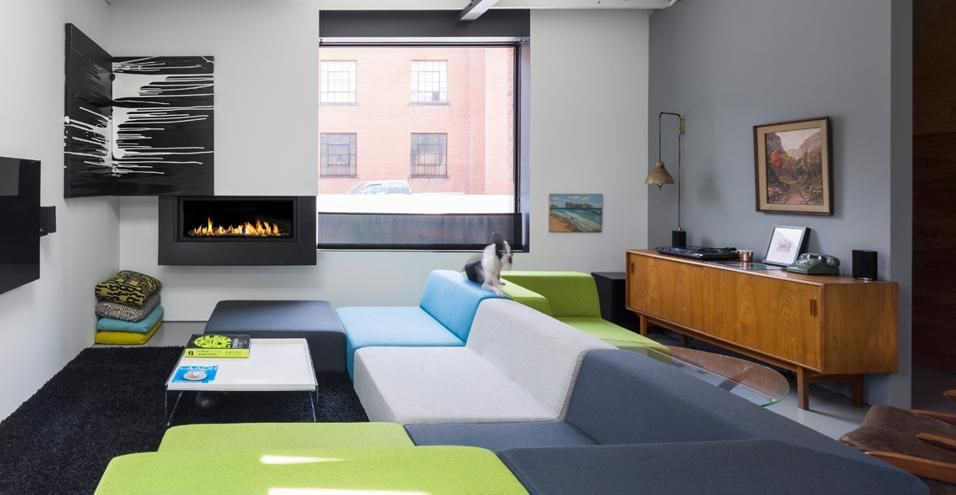 Interni di stile industriale Pinterest Decoración - diseo de interiores de departamentos
